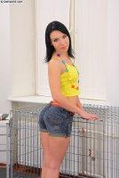 Красивые порно фото от сайта Defiled18 с юной девкой Eva