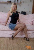 Бесплатные секс фотографии от сайта DoubleViewCasting с молодой блядью Dulsineya(21.06.11)