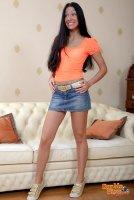 Красивые эротические фотокарточки от сайта DoubleViewCasting с молоденькой шлюхой Elizabeth(18.02.11)