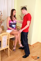 Бесплатные порно фотографии от студии DoubleViewCasting с юной девушкой Jaba B(28.01.11)